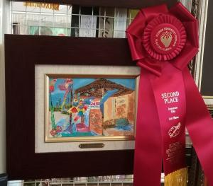Artist Chrys Wilson Wins Second Place In Show