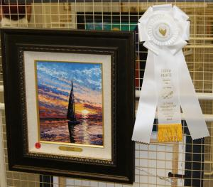 Artist Chrys Wilson Wins Third Place In Show